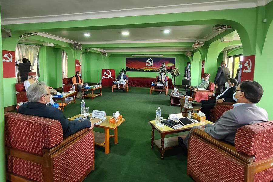नेकपा सचिवालय बैठक स्थगित, भोलि बालुवाटारमा बस्ने
