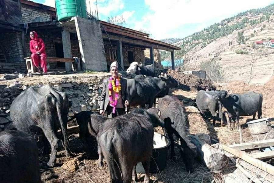 गुठीचौरद्वारा कृषि र पशुपालनलाई प्राथमिकता